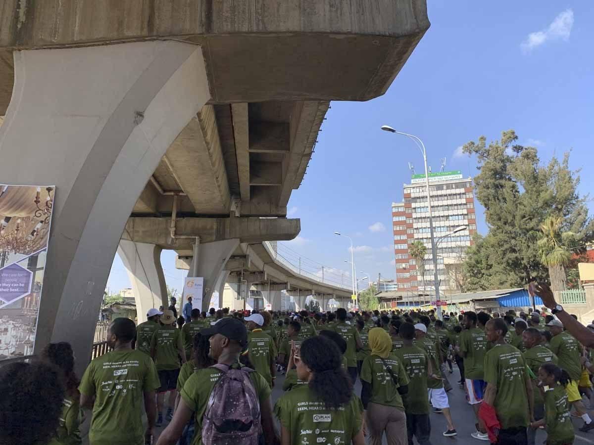 great ethiopian run under viaduct