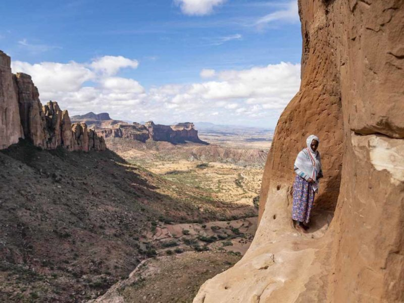 hiking tigray churches abuna yemata