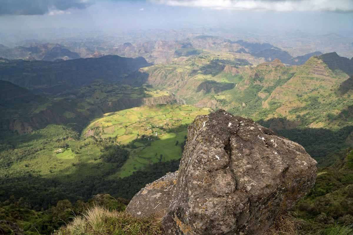 simien mountains view