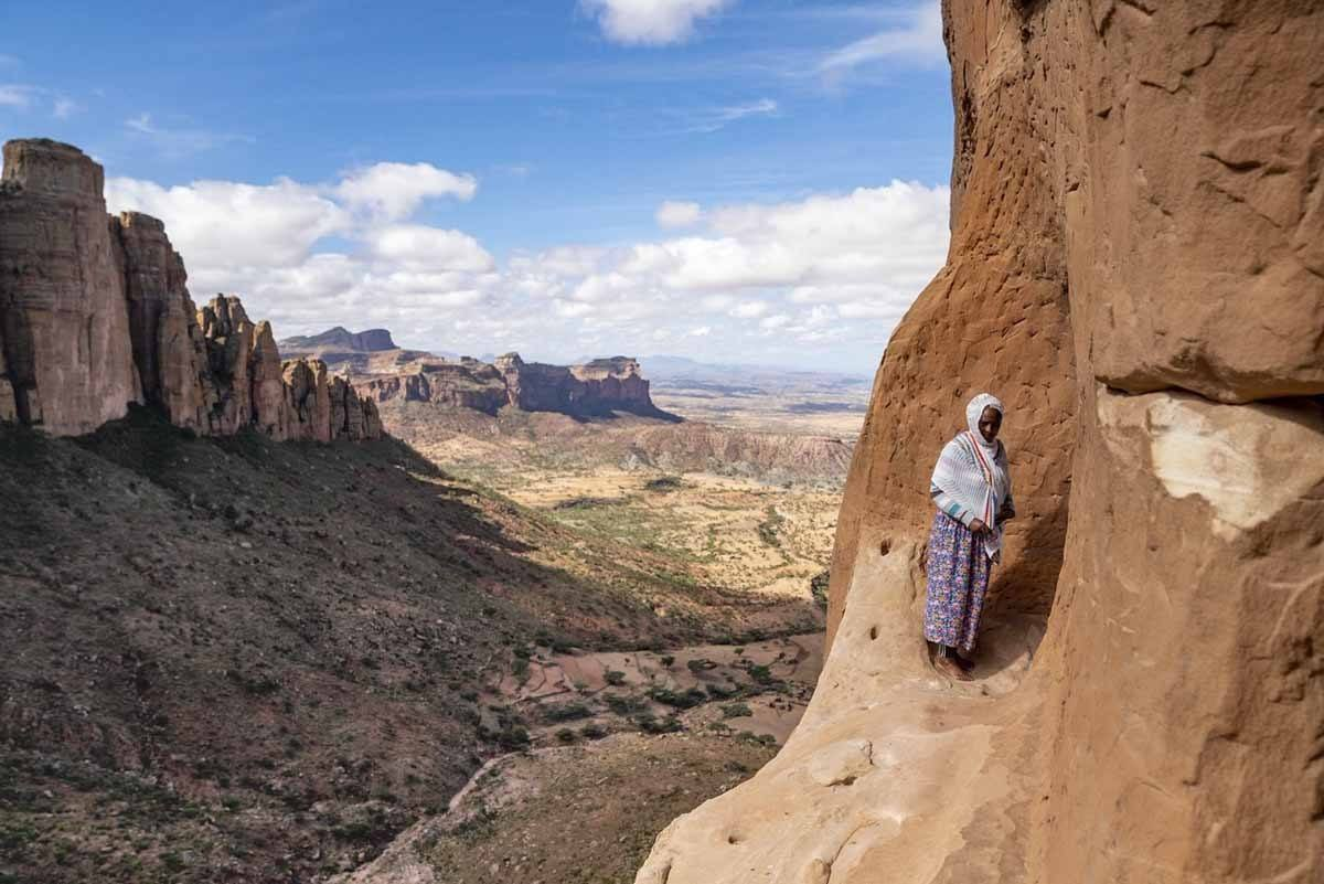 tigray mountains abuna yemata ledge