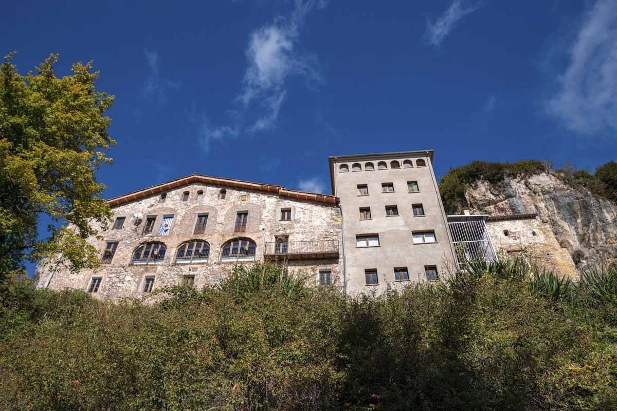 montgrony monastery pyrenees