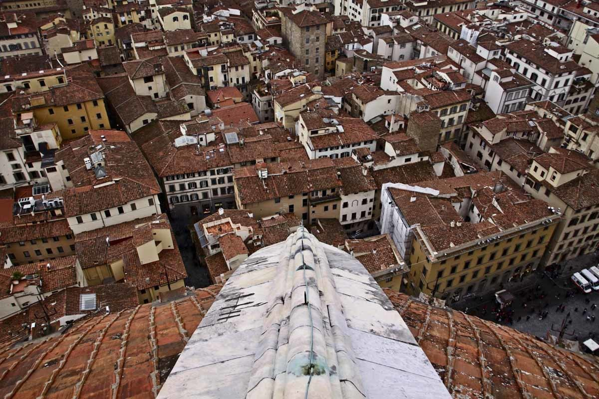view from brunelleschi dome