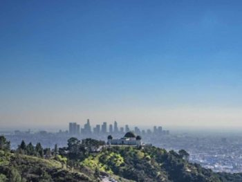los angeles griffith observatory view