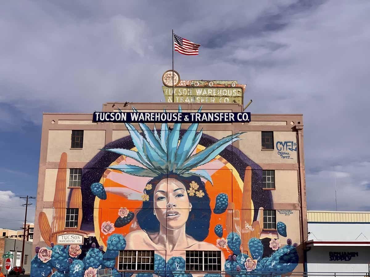 tucson mural mayahuel