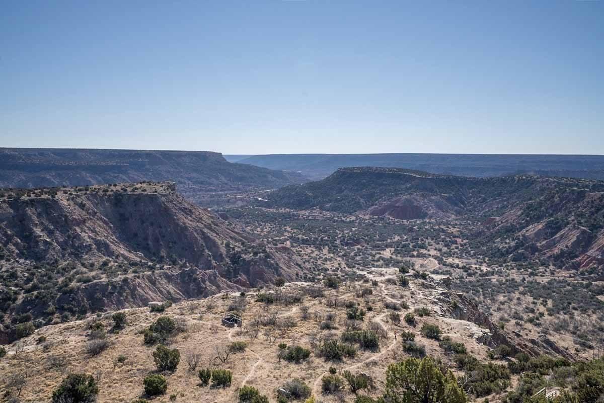 palo duro canyon view