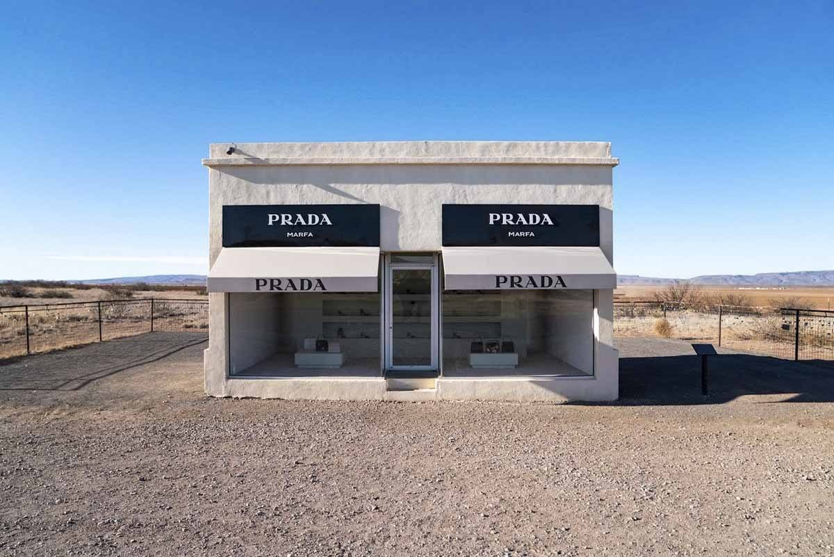 prada marfa big bend