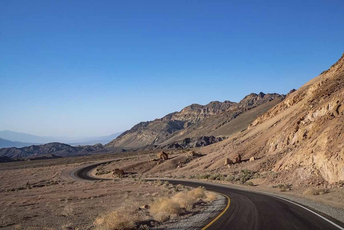 death valley scenic drive