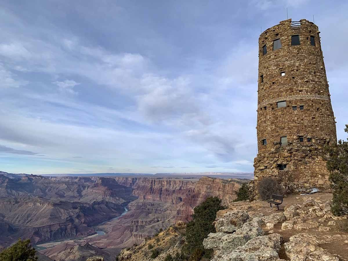 grand canyon desert watchtower