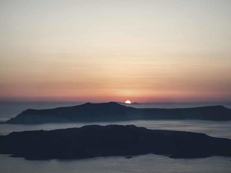mykonos best beaches sunset