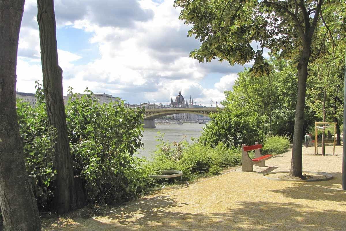 Park on Margaret Island in Budapest, Hungary
