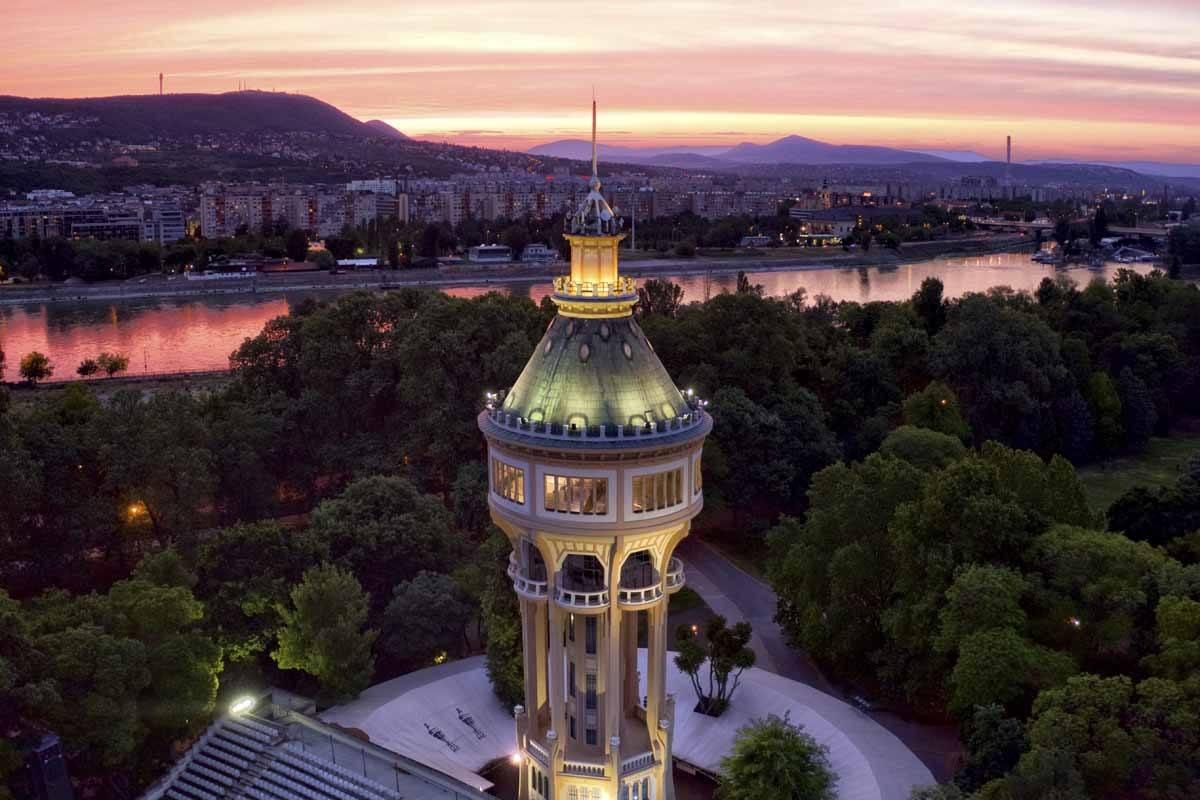 margit-sziget-water-tower