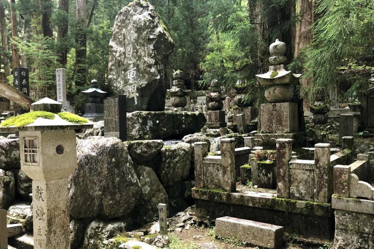 Okunoin Cemetery in Koyasan