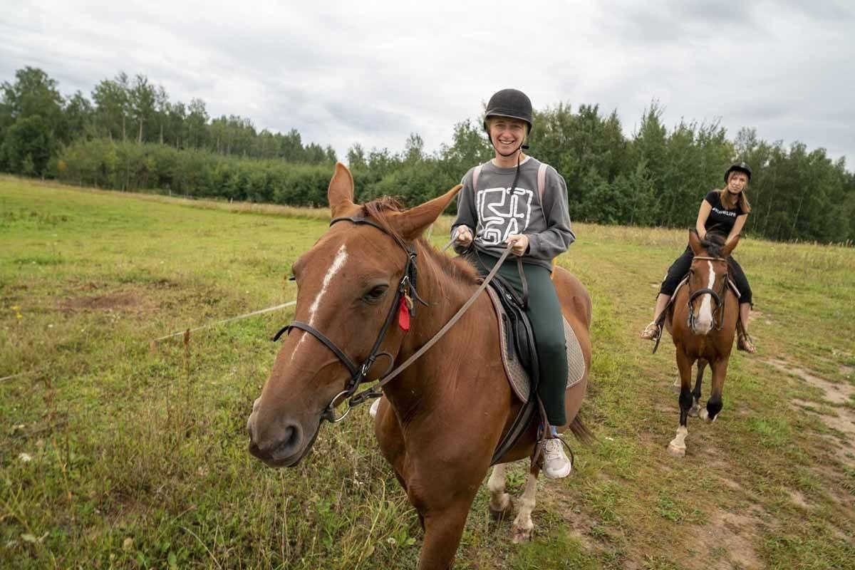 horse riding latgale