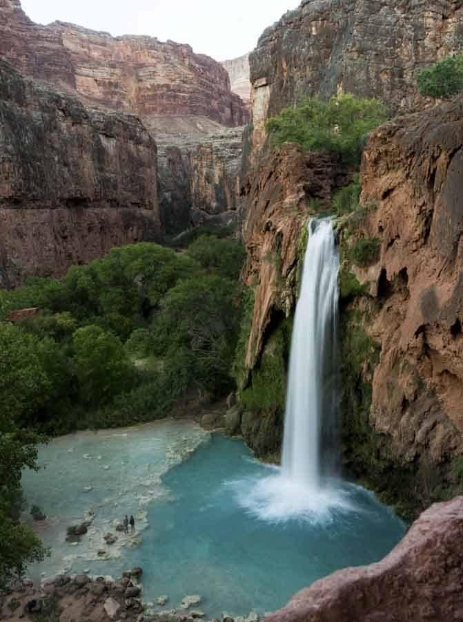 havasupai falls arizona