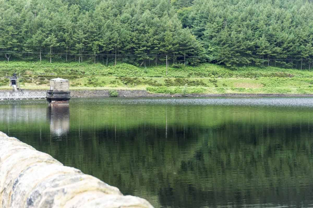 reservoire in the peaks