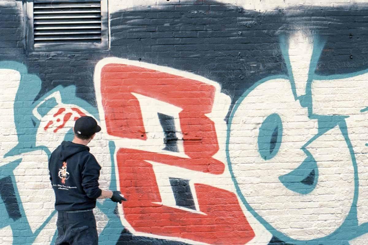 graffiti artist amsterdam