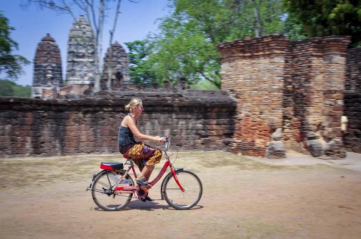 sukhothai cycling