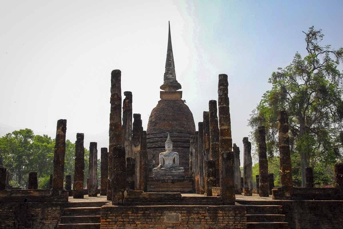 wat mahatat sukhothai