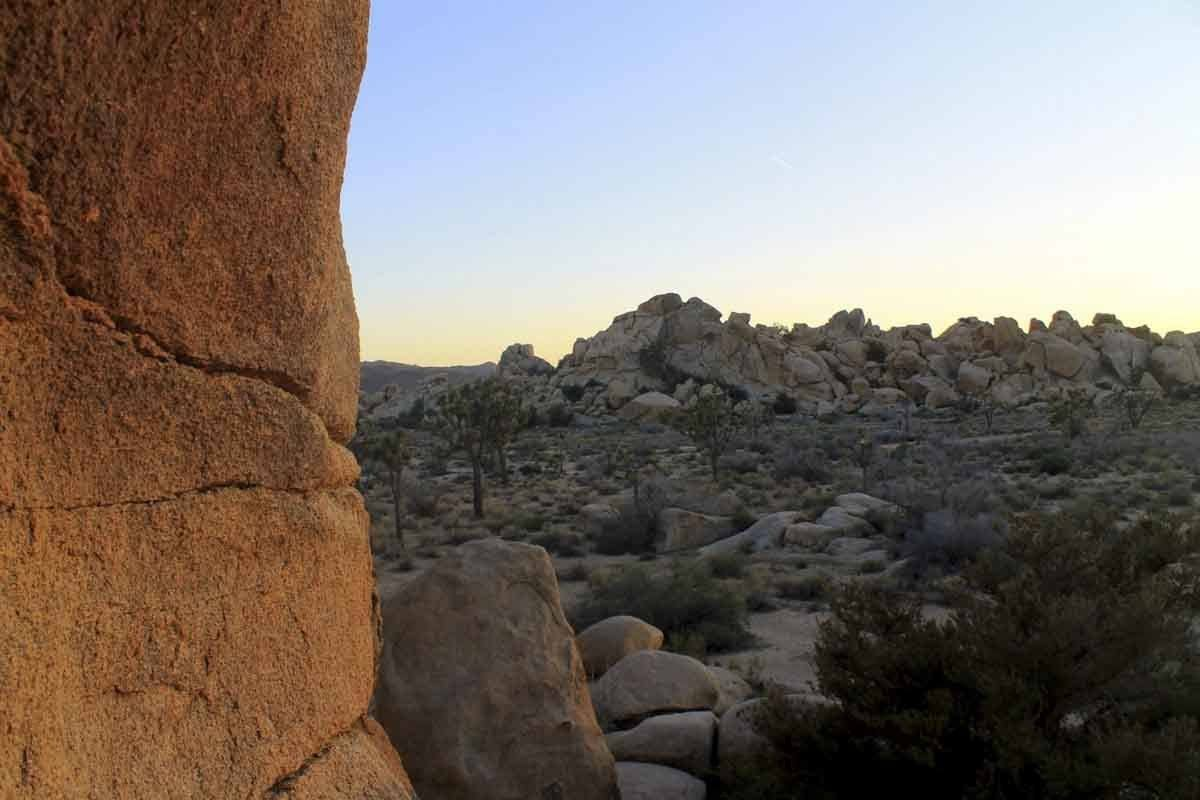 Hidden Valley in Joshua Tree