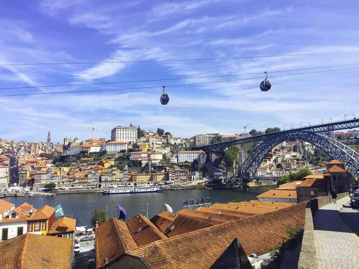 Porto Ribeira view
