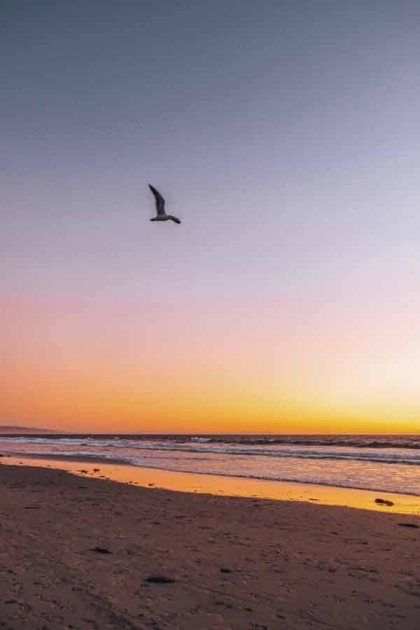 coucher de soleil plage de venise
